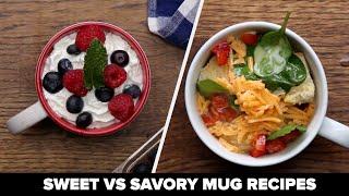 Sweet Vs Savory Mug Recipes