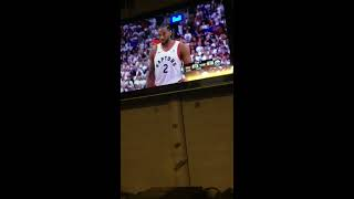 76ers fan reaction to Kawhi Leonard hitting game winner against 76ers 5/12/19