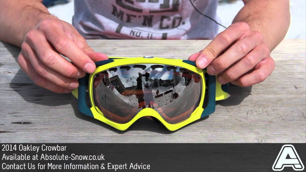 oakley crowbar snow goggles ohd0  2013 / 2014  Oakley Crowbar Goggles  Video Review Absolute Snow