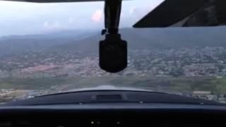 Aterrizaje en Barquisimeto