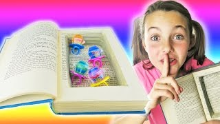 How To Make DIY Super Secret Stash Book | Easy Kids Crafts With Ava | Secret Compartment