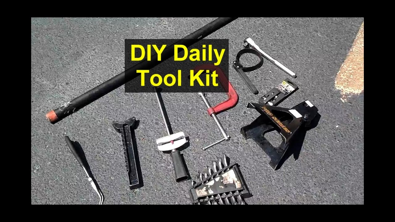 Tool Kit For Diy Auto Mechanic Most Commonly Used Tools