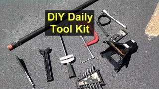 Tool Kit For Diy Auto Mechanic, Most Commonly Used Tools.