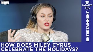 Miley Cyrus wants to be friends with Ariana Grande and has secret holiday plans with Liam Hemsworth