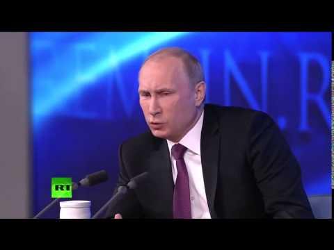 La Conférence de presse de Poutine du 16 avril 2015, ou la réfutation des accusations de l'occident