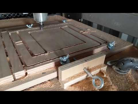 CNC Router DIY Clamp System For Cutting Plywood
