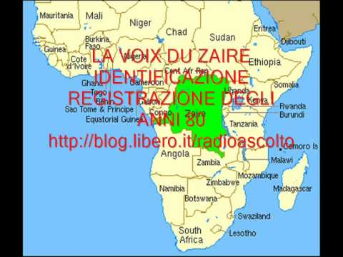 RADIO: LA VOIX DU ZAIRE ID. IN FRENCH LANGUAGE