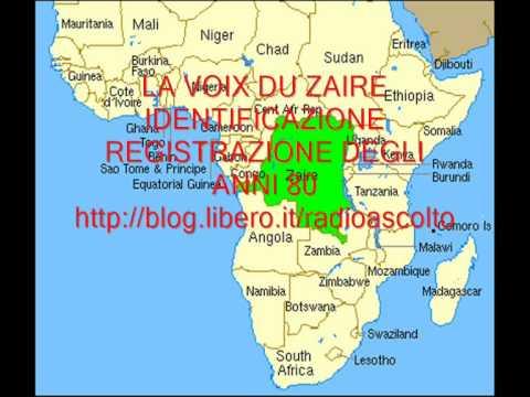 RADIO: LA VOIX DU ZAIRE ID. IN FRENCH LANGUAGE