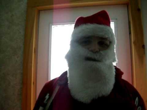 One Pissed Off Santa Claus