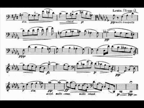 Dvorak - Silent Woods for Cello, Op.68 No.5