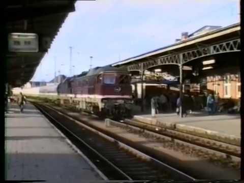 Deutsche Reichsbahn,Rostock HBF.1990
