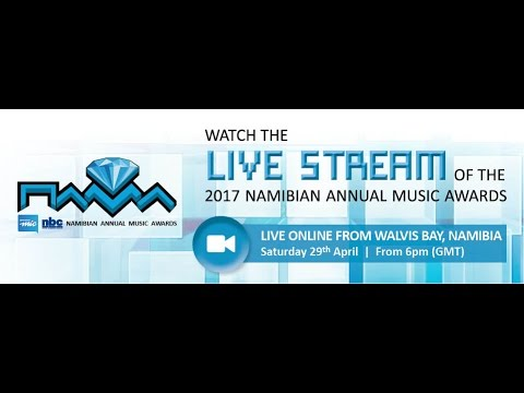 NAMA2017 Saturday Night Awards - 7PM GMT live from Walvis Bay, Namibia