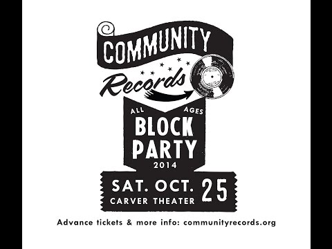 Community Records Block Party 2014 Preview