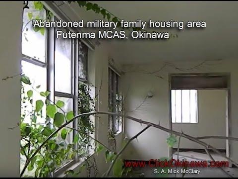 Abandoned military housing, MCAS Futenma, Okinawa March 8, 2014