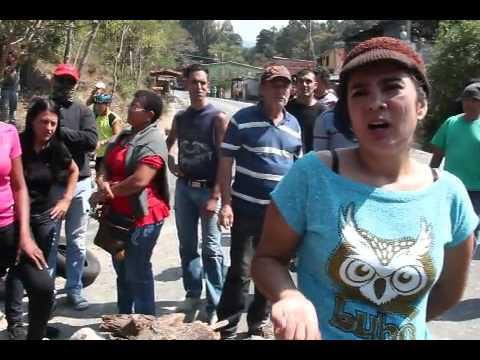 Protesta en el Valle Mérida por agresión de presunto escolta de sobrina de Cilia Flores