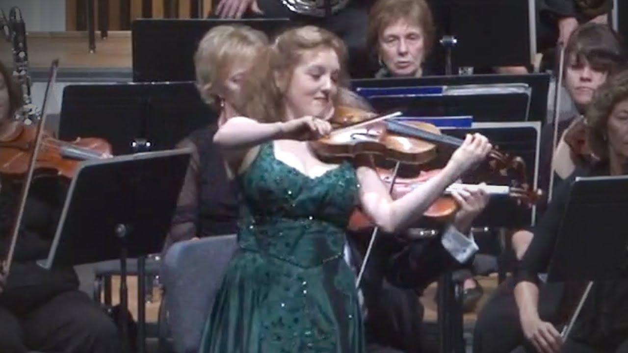 Sibelius Violin Concerto 3rd movement - Rachel Barton Pine