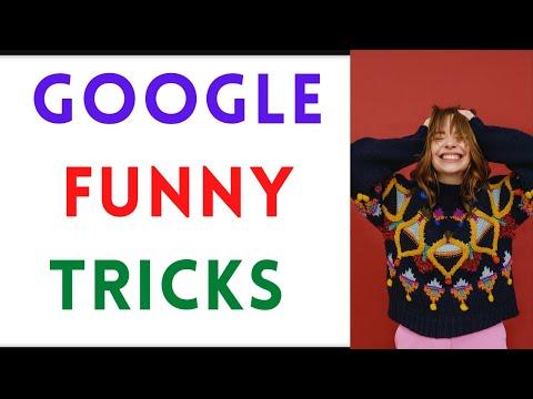 Google Funny Tricks, Games And Hacks - एक बटन पे पूरा खेल