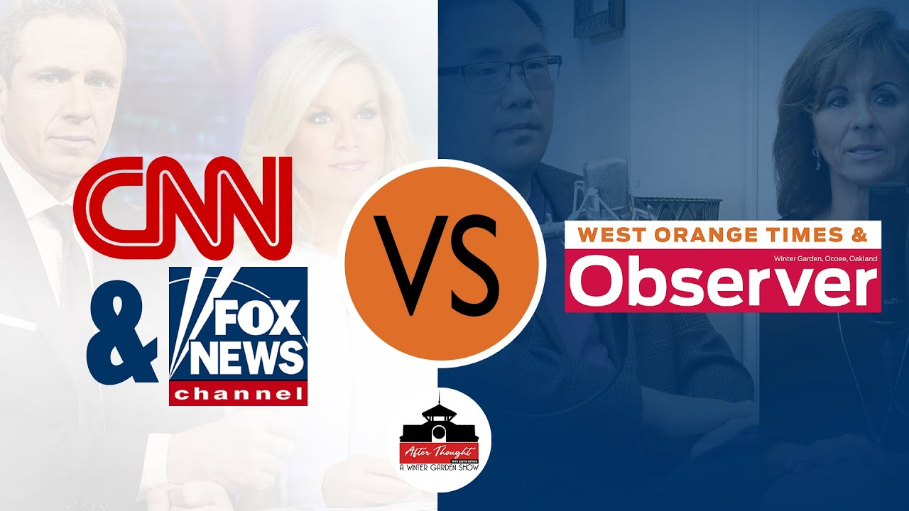 Fox News & CNN vs. the West Orange Times and Observer