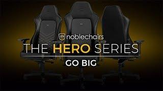 noblechairs The Hero Series - GO BIG - Caseking TV