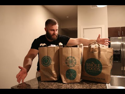 WHOLE FOODS Grocery Haul on a Cut!
