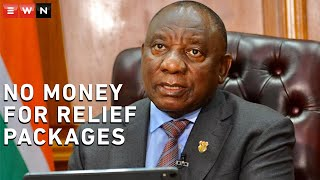 In an interview with EWN and 702, African National Congress leader and President Cyril Ramaphosa admitted that government does not have money for COVID-19 relief packages.  #Ramaphosa #Covid19news #stimulus