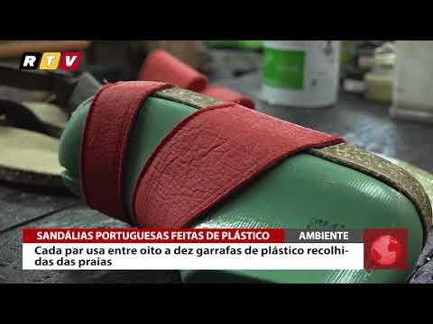 Nas Portuguesas Sandálias Youtube Recolhido Plástico De Feitas K1TF3u5lJc