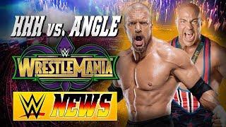 Triple H vs. Kurt Angle bei WrestleMania?, Wird Daniel Bryan als SD! GM ersetzt? | WWE NEWS 78/2017