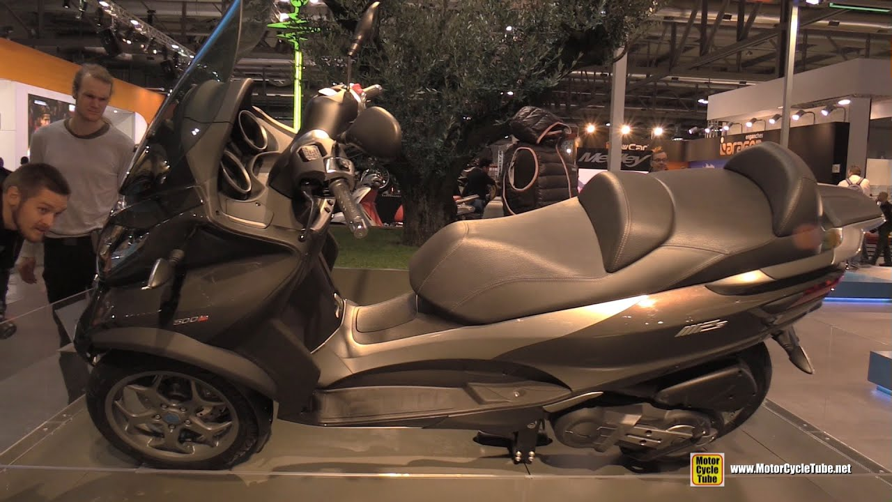 2016 piaggio mp3 business 500 lt abs asr three wheel scooter