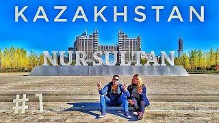 КАЗАХСТАН / НУР-СУЛТАН (Астана) на машине - Такого мы не ожидали!