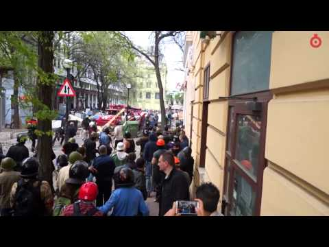 17.45/02.05.2014 Одесса, вооруженные столкновения