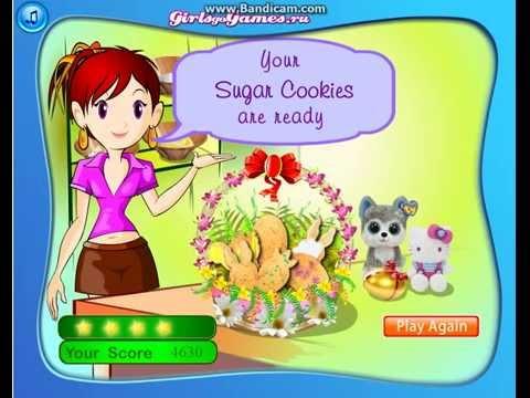 Кухня Сары: сахарное печенье