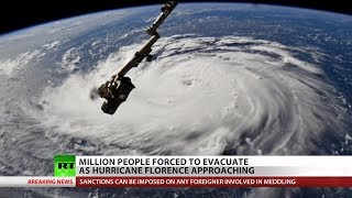 The Latest on Hurricane Florence