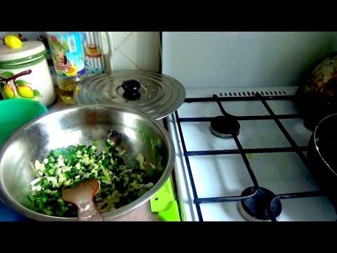 Рецепт Начинка  для пирожков из зелёного лука и яйца