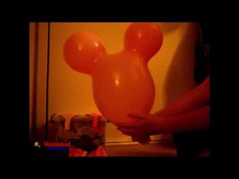 Mickey Mouse Shape Latex Balloons Animal Balloon Birthday Party Wedding