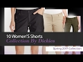 10 Women'S Shorts Collection By Dickies Spring 2017 Collection