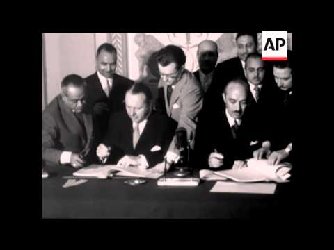ANGLO EGYPTIAN AGREEMENT - NO SOUND