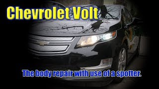 Chevrolet Volt. The body repair. Ремонт кузова.