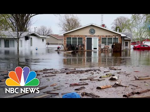 State Of Emergency In Michigan After Dam Failure And Flooding   NBC Nightly News