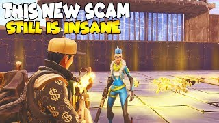 This NEW SCAM Still Works 😱 Must Watch (Scammer Gets Scammed) Fortnite Save The World
