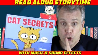 CAT SECRETS | Children's books read aloud for preschool, kindergarten