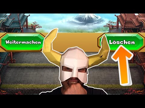 ICH LÖSCHE MEINEN ACCOUNT?! || CASTLE CRUSH || Let's Play Castle Crush [Deutsch German]
