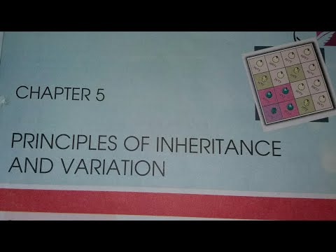 #21 12th NCERT Bio Line to line in hindi Chapter.5---Principle of Inheritance and Variations thumbnail