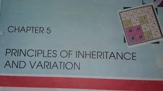 #21 12th NCERT Bio Line to line in hindi Chapter.5---Principle of Inheritance and Variations