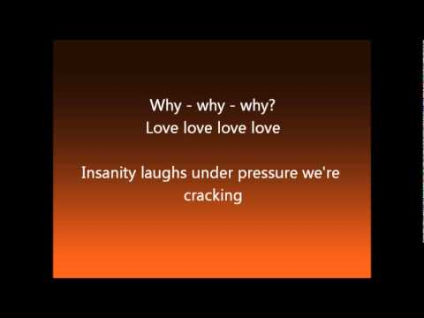 We Will Rock You: Under Pressure Lyrics