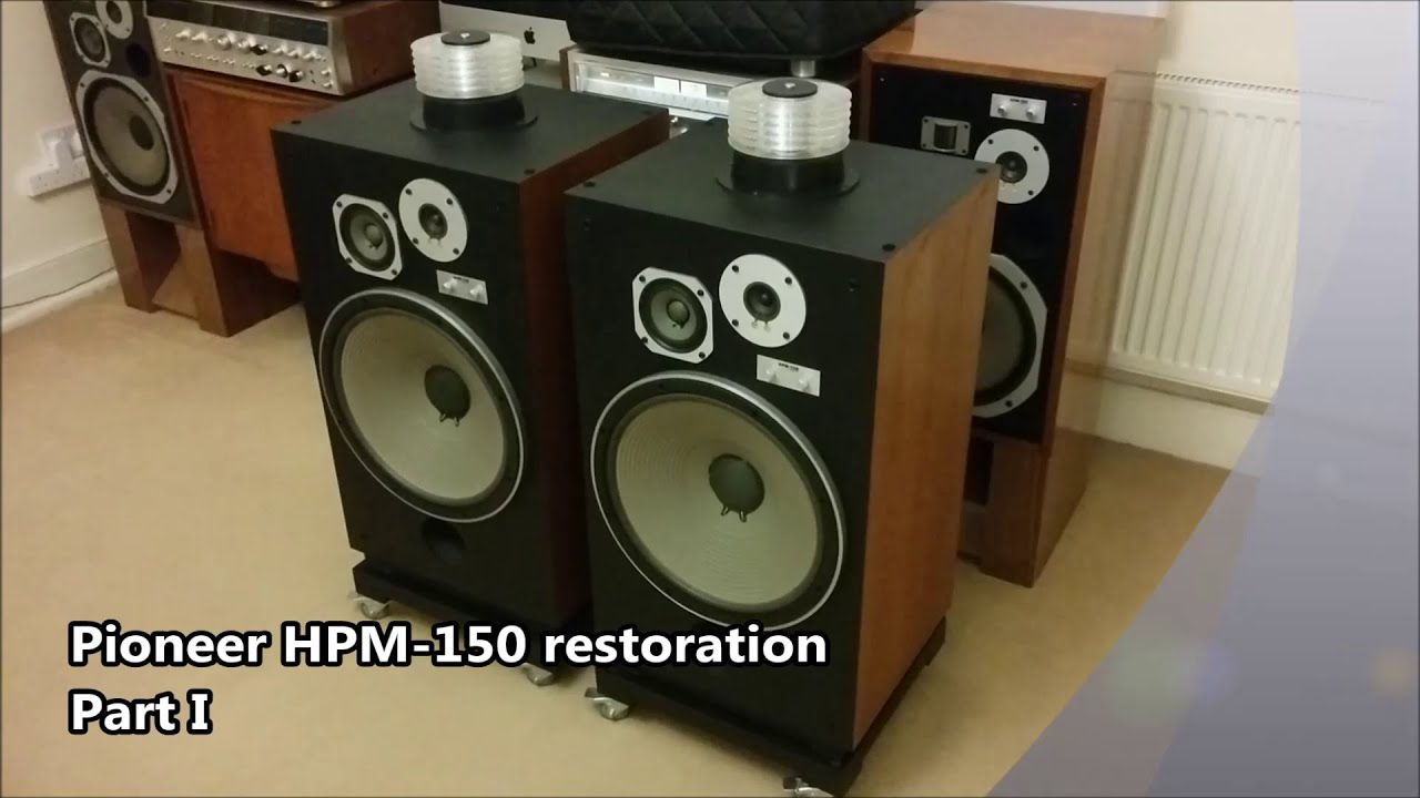 Pioneer HPM-150 Restoration - Disassembly