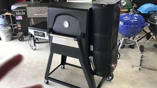 Review Of The Masterbuilt Gravity Series 560 Charcoal Grill / Overview And Seasoning!