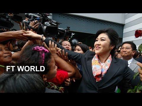 Shinawatra sacked as Thai prime minister