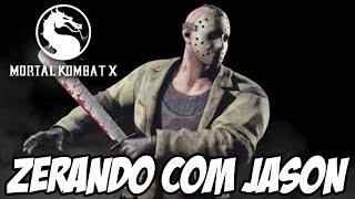 Mortal Kombat X - Zerando com JASON NO HARD