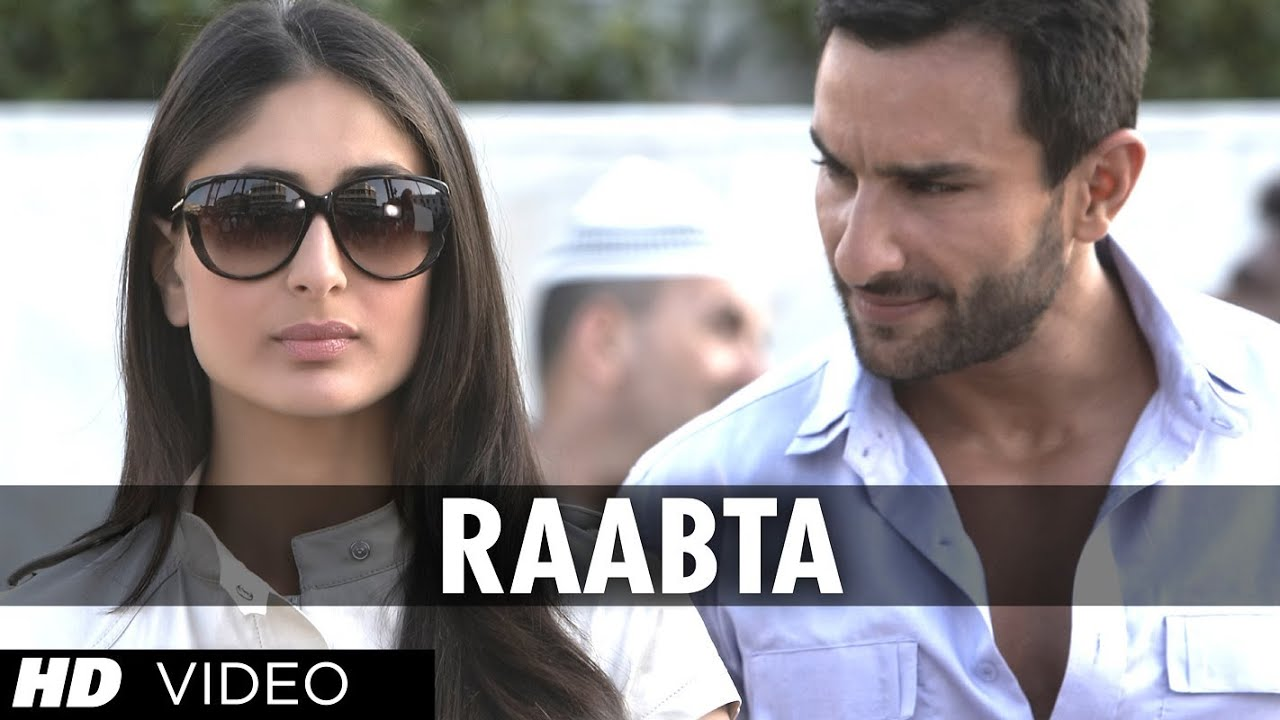 Raabta (kehte hain khuda) agent vinod full song video | saif ali.