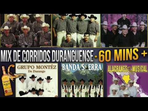 Mix de Corridos Duranguense 60+ Minutos (Montez de Durango, Alacranes Musical y más!)